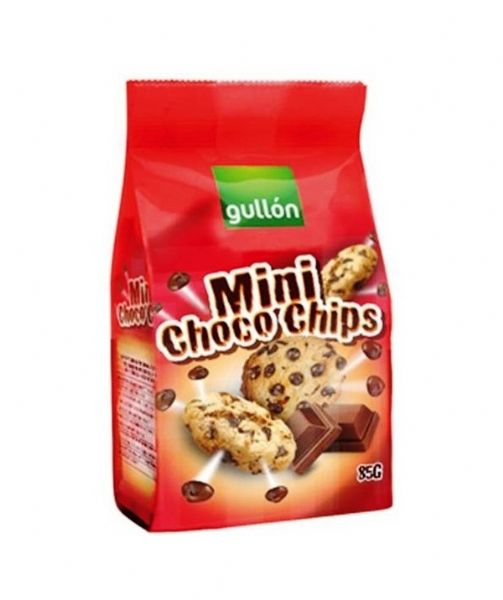 Mini choco chips Gullon 85g
