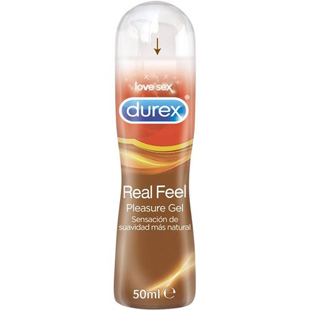 Lubricante Durex Real Feel 50ml.