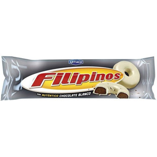 Filipinos chocolate blanco 75g