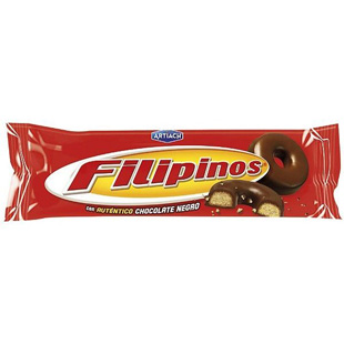 Filipinos chocolate negro 75g