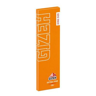 Papel Gizeh slim king size extra fine 50 librillos