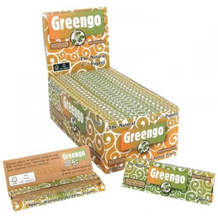 Greengo papel natural 1.1/4 caja 100 librillos