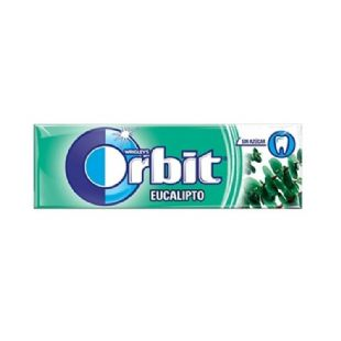 Orbit Eucalipto 10 chicles sin azúcar