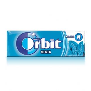 Orbit Menta 10 chicles sin azúcar 14g