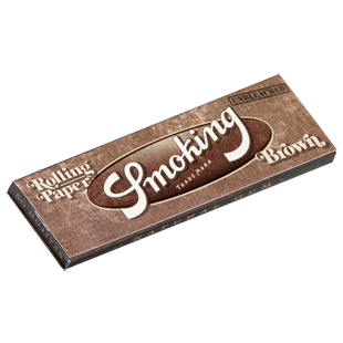 Smoking Brown 1 1/4 caja 25 librillos