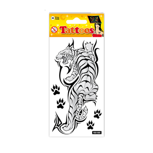 Tattoo Tiger 19cm X 9cm