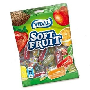 Vidal soft fruit 100g
